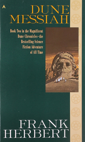 Dune 2 Dune Messiah Cover