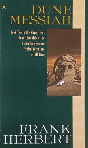 Dune 2 Dune Messiah Cover
