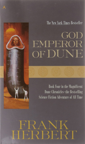 Dune 4 God Emperor of Dune Cover
