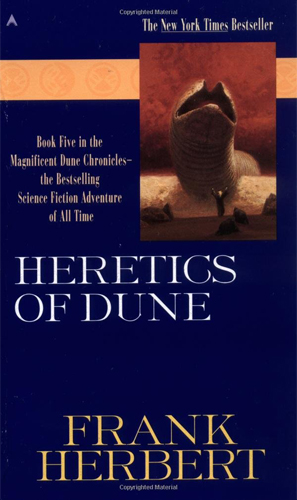 Dune 5 Heretics of Dune Cover